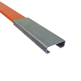 "Splice Clip for Orange 1/4"" x 1-1/4"" Fiberglass Board"